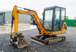 Hanix H22B 2.2 tonne rubber tracked mini excavator Year: 2002 S/N: 522230 Recorded Hours: c/w