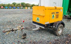 Arc - Gen Weldmaker 300 AVC 300 amp fast tow diesel driven welder/generator S/N: 1302631 Recorded