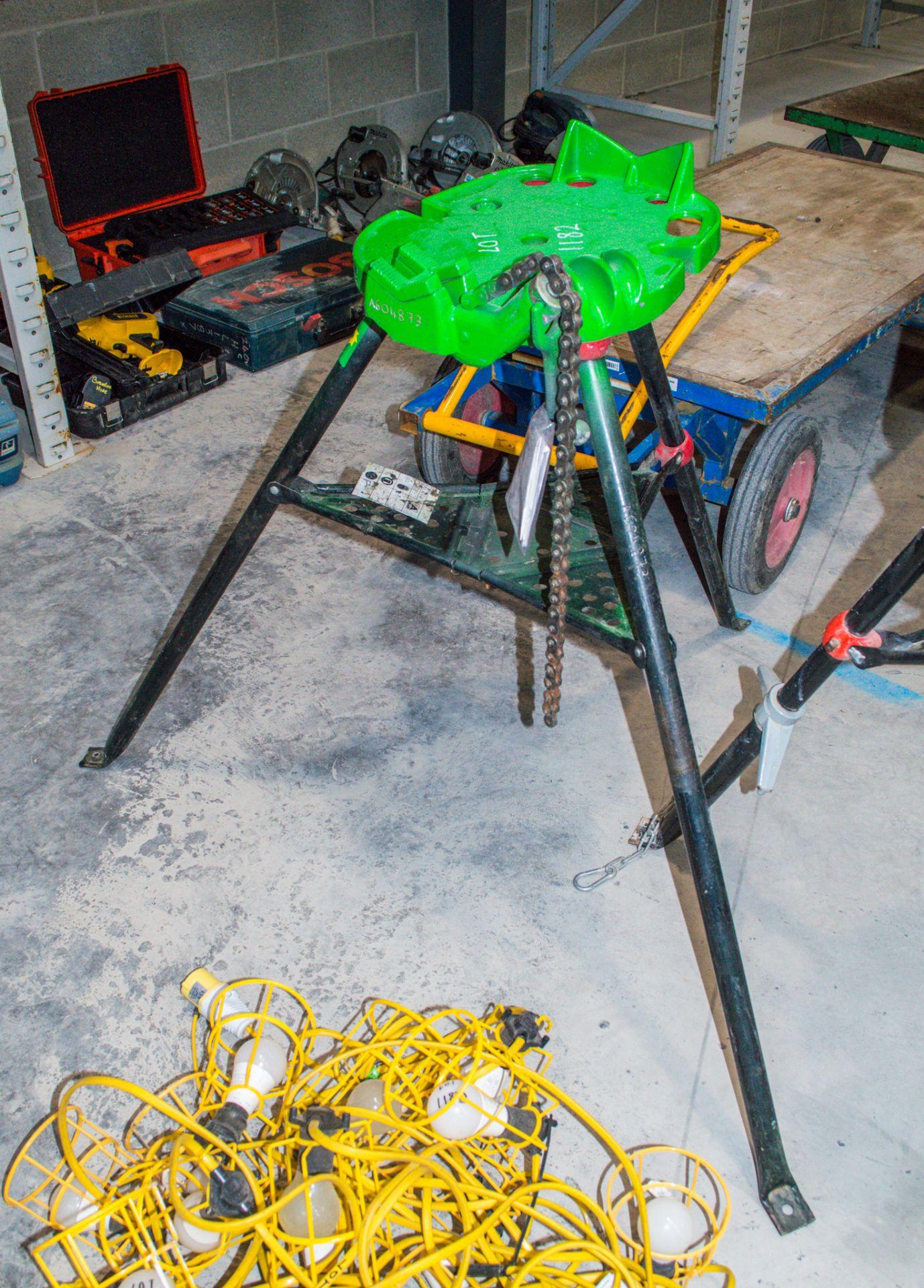 Ridgid Tristand 6 inch pipe vice A604873