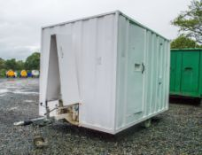 Ground Hog 12' by 8' fast tow self lowering welfare unit c/w canteen area, toilet room, genertor