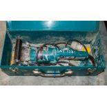 Makita PC1100 110v concrete grinder c/w carry case 16030980