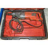 Husqvarna DM230 10v diamond drill c/w carry case