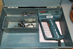 Bosch 240v heat gun c/w carry case ** Cord cut **