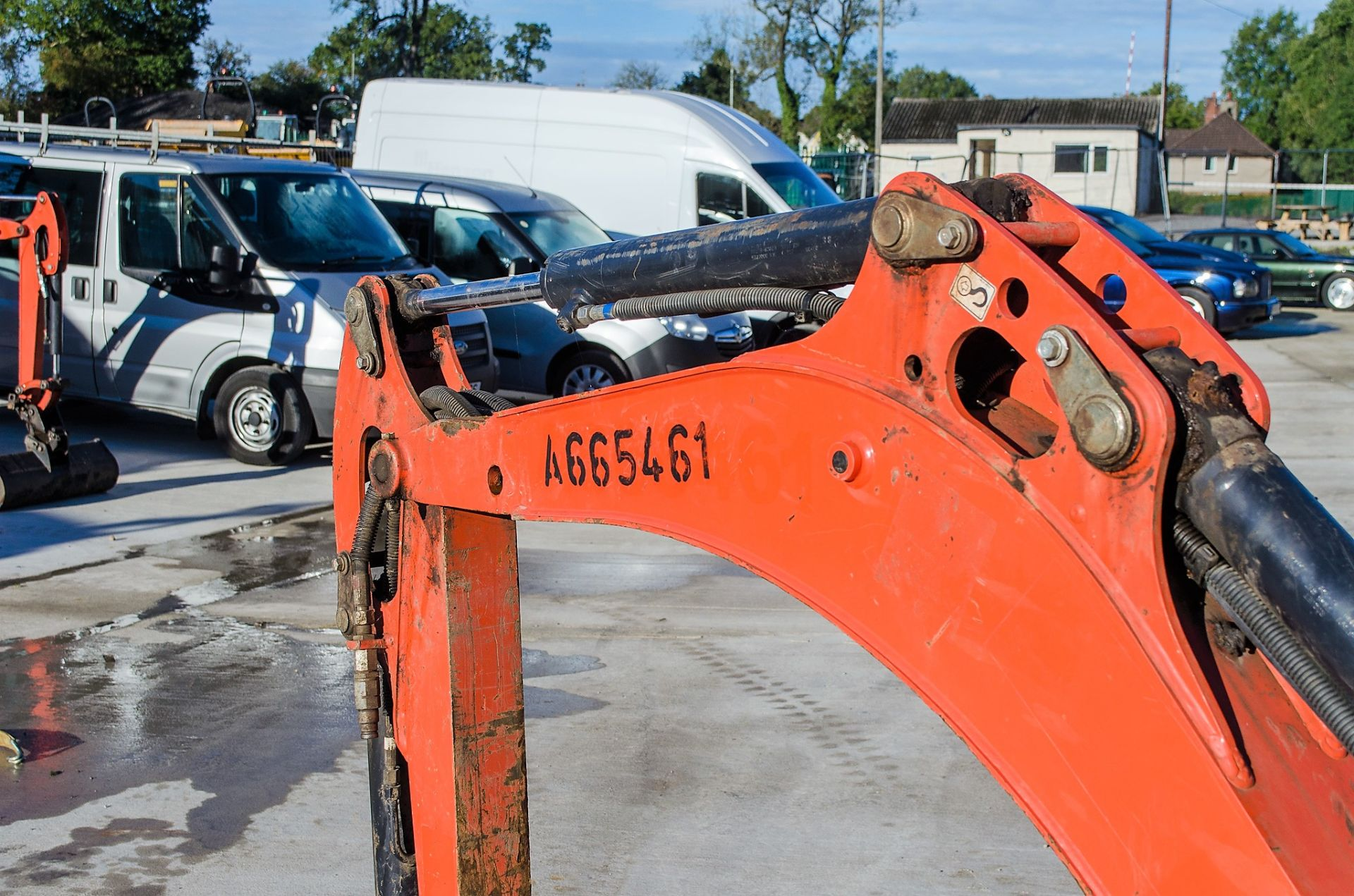 Kubota KX016-4 1.5 tonne rubber tracked mini excavator Year: 2015 S/N: 58688 Recorded Hours: 1736 - Image 14 of 19