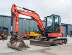 Kubota U48-4 4.8 tonne rubber tracked excavator Year: 2011 S/N: 50890 Recorded Hours: 4472 c/w