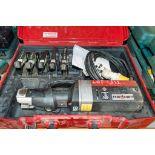 Novopress ECO 301 110v pipe press/crimping machine c/w 5 - press jaws & carry case A750455