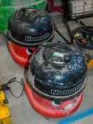 2 - Numatic 110v vacuum cleaners