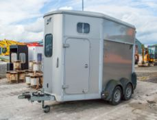 Ifor Williams HB506 tandem axle horse box trailer
