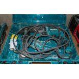 Makita HR2630 110v SDS hammer drill c/w carry case 18100815 ** Handle dismantled **