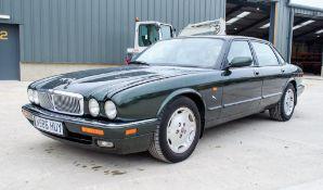 Jaguar XJ6 3.2 Sport petrol automatic 4 door saloon car Registration Number: N586 HUY Date of