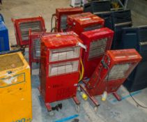 9- Infra red heaters CO