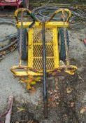 Pipe/carpet roll trolley L441H343