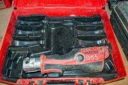 Novopress Aco102 cordless mini press tool c/w carry case PTH834