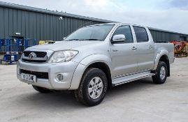Toyota Hi-Lux 2.5 D4-D 144 HL3 double cab diesel 4wd pick up Reg No: YT10 CME Date of