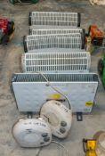 5 - Electric heaters & 2 - fan heaters CO/NB