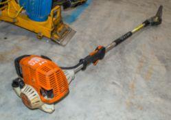 Stihl HK95K petrol driven long reach hedge cutter 21600290 ** Cutting blade missing **