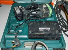 Hitachi 14v cordless rebar cutter c/w charger, battery & carry case A830448