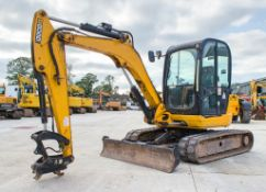 JCB 8055 5.5 tonne rubber tracked mini excavator Year: 2013 S/N: 2060473 Recorded Hours: 2698
