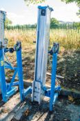 Genie SLA-15 manual site hoist ** Cable snapped **