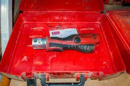 Novopress Aco102 cordless mini press tool c/w carry case PTH467