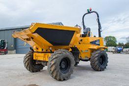 Thwaites 6 tonne swivel skip dumper Year: 2018 S/N: 3952 Recorded Hours: 805 c/w road light kit