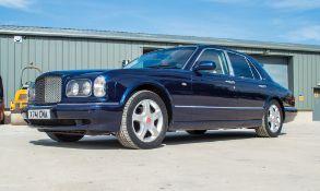 Bentley Arnage Red Label auto 4 door saloon car Registration Number: X741 CMA Date of