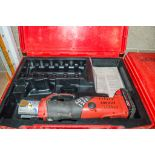 Novopress ACO202 15mm to 35mm cordless pipe crimping/press machine c/w battery & carry case ** No