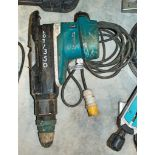 Makita HR5212C 110v SDS rotary hammer drill 03222129 ** Handle damaged **