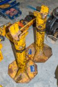 2 - 5 tonne axle/cable drum stands