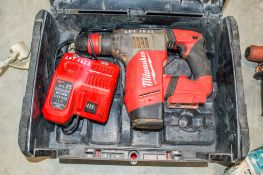 Milwaukee M18 CHPX 18v SDS rotary hammer drill c/w charger ** No batteries ** 03BX0271 CO