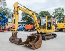 Komatsu PC45R 4.5 tonne rubber tracked mini excavator Year: 2004 S/N: 22289 Recorded Hours: 6109