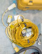 5- extension leads