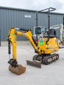 JCB 8008 CTS 0.8 tonne rubber tracked micro excavator Year: 2014 S/N: 2910541 Recorded Hours: 1818