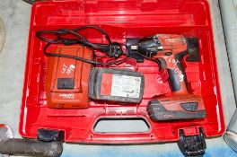 Hilti SIW 22-A OI cordless rotary hammer drill c/w 2 batteries, charger and carry case A762886