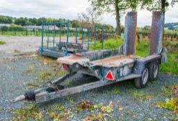 Ifor WIlliams GH 94 tandem axle plant trailer CPHTA569