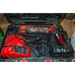 Milwaukee M18BMT cordless multi tool c/w charger, battery & carry case 020M0030