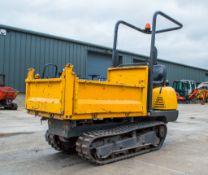 Yanmar C12-R 1.2 tonne straight skip rubber tracked dumper Recorded Hours: 1034 P3073