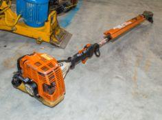 Stihl HL75K petrol driven long reach hedge cutter 21600260
