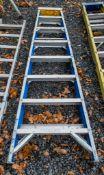 8 tread fibre glass step ladder A776413
