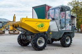 Wacker Neuson 3001 3 tonne cabbed swivel skip dumper Year: 2019 S/N: 02573 Recorded Hours: 794