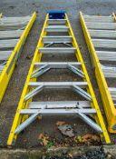 8 tread glass fibre framed step ladder A696347