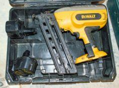 Dewalt XRP cordless nail gun c/w 2 batteries & carry case WDFN0164 ** No charger **