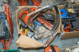 2 - Boxes of Husqvarna K760 cut off saw spares as photographed
