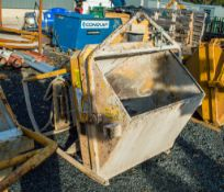Secatol 500 litre concrete chute/skip