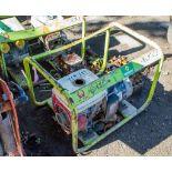 Pramac petrol driven generator A657335 ** Parts missing **