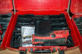 Novopress Aco102 cordless mini press tool c/w carry case PTH943