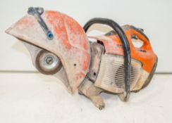 Stihl TS410 petrol driven cut off saw 0227C621