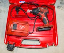 Hilti SIW 22-A OI cordless rotary hammer drill c/w charger and carry case ** No batteries **