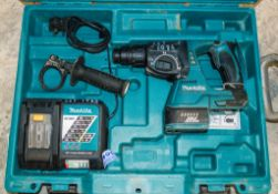 Makita DHR 242 SDS rotary hammer drill c/w charger and carry case A692369