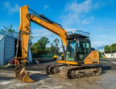 Case CX130C 14 tonne steel tracked excavator Year: 2014 S/N: 1205 Recorded Hours: 8730 piped,